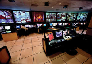An insider's look at the installation of the Digital CCTV System installed at Mystic Lake Casino