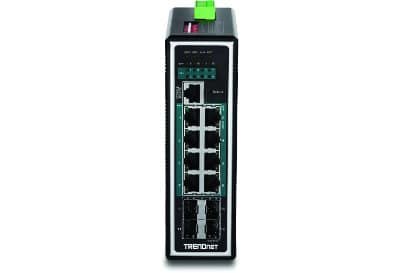 The TRENDnet TI-PG1284i network switch.