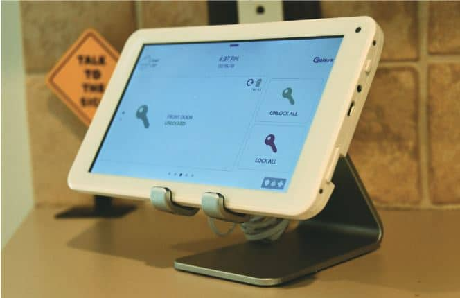 Qolsys Releases Secondary Touchscreen Tablet for IQ Panel 2